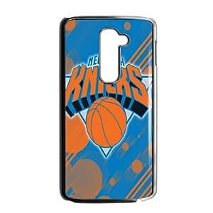 New York Knicks NBA Black Phone Case for LG G2 Case