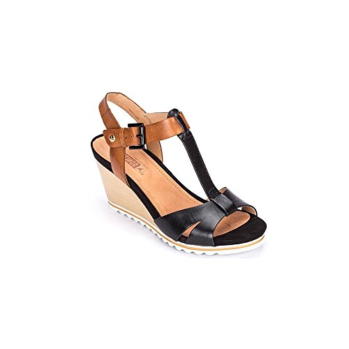 0594 PIKOLINOS T-BAR SANDAL 39 BLACK