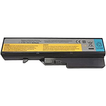 Bay Valley Parts 6-Cell 10.8V 5200mAh New Replacement Laptop Battery for LENOVO IdeaPad G570 G560 G470 G460 V570 V470 Z470 Z480 B570 L09S6Y02