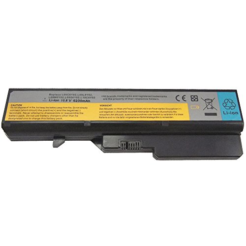 Bay Valley Parts 6-Cell 10.8V 5200mAh New Replacement Laptop Battery for LENOVO:L09N6Y02,L09S6Y02,L10C6Y02 (Oem Standard S14)