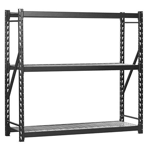 Edsal Storage Rack - Edsal ERZ721872W3 Muscle Welded Storage Rack with 3 Shelves, 6000 lb. Capacity, 77