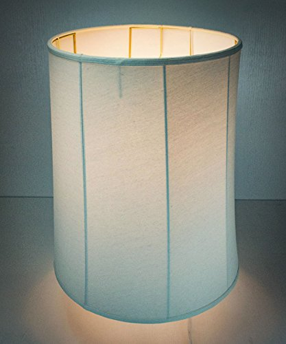 HomeConcept 161822DRLO Collapsible Drum Lamp Shade Premium Light Oatmeal Linen, 16'' x 18'' x 22'' by HomeConcept (Image #4)