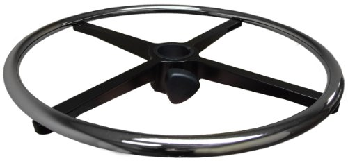 """20"""" Chrome Foot Rest Ring for Drafting Stool or"""
