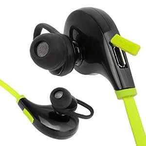 Audífonos y Manos Libres Bluetooth Deportivos con Micrófono, Sonido HD, Resistentes a Salpicaduras de Agua y Sudor, Bluetooth 4.1 Handsfree Sport, Audífonos Inalámbricos, Colores Variados