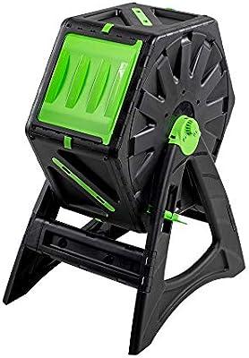 UPP Compostador de barril de 70L para jardín o balcón I compostador térmico, ventilación interna, acelera el compostaje, abono orgánico: Amazon.es: Jardín