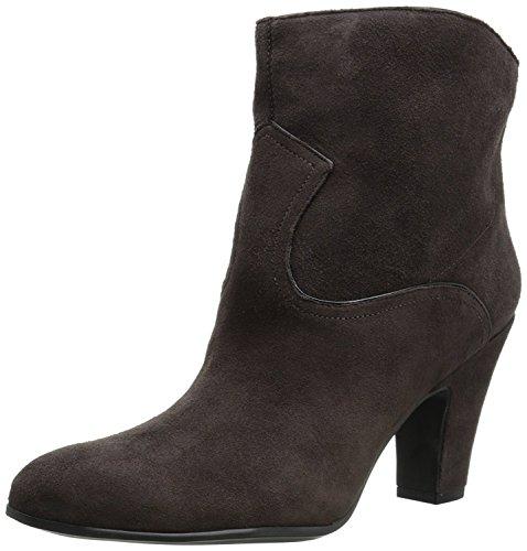 Nine West Women's Quarrel Suede Boot, Dark Brown/Black, 41.5 B(M) EU/8.5 B(M) UK