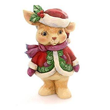Jim Shore Heartwood Creek, Pint Sized Christmas - Christmas Bunny
