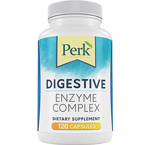 Perk Digestive Enzymes Supplement – Results or 110% Money Back