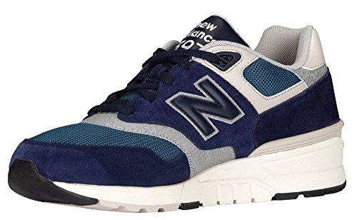 New Balance Herren 597 Laufschuhe, Grau Blue