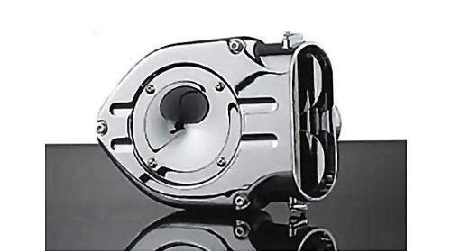 Kuryakyn 8469 Chrome Hypercharger Air Cleaner Kit for Harley 91-06 Sportster XL (8469)