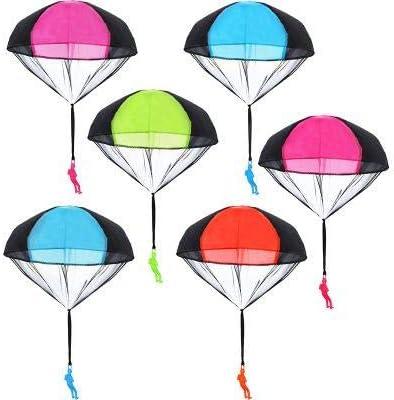 EXTSUD Fallschirm Spielzeug Kinder, 4 Stück