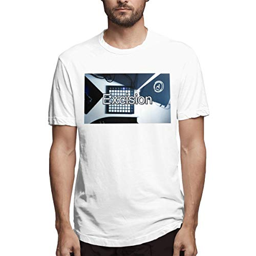Fnh Excision Music Electronic Keyboard Cover Men's Tees 6XL -