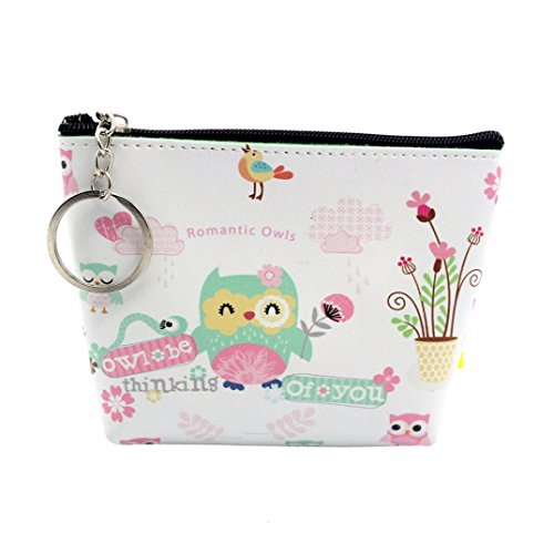 YJYdada Women Girls Lady Leather Small Wallet Coin Purse Clu