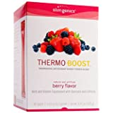 SlimGenics Thermo-Boost | Thermogenic Antioxidant Energy Boosting Powder Drink Mix - Anti-Aging Properties, Increases Metabolism & Weight Loss, Fights Fatigue and Inflammation - 30ct (Berry Flavor)
