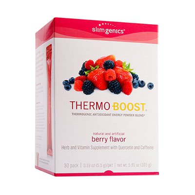Thermo-Boost® Thermogenic Antioxidant Energy Powder Blend (Berry)