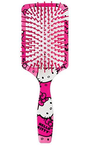 Escova de Cabelo Raquete Hello Kitty, Ricca, Rosa, Ricca, Rosa