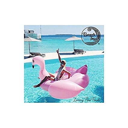 beachtoy colchón hinchable Light Pink Flamingo 2 - 3 personas ...