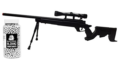 WELL MB04 Airsoft Sniper Rifle High Powered Pro Rifle w/ Bip