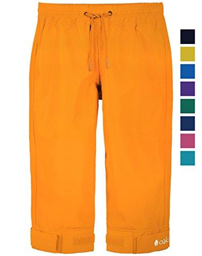 Oakiwear Children's Trail Rain Pants, Lava Orange 6/7 (Lava Pants)