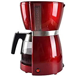 YLEI Drip Coffee Machine, 1.8L Electric Coffee Maker, Removable Mesh Filter, Sprinkler Head, Anti-drip System, Multi-Purpose, American Style, for Kitchen and Office