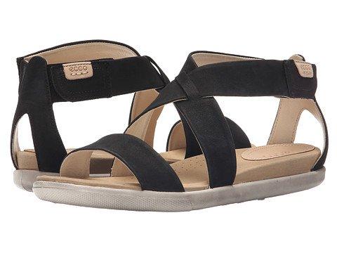 (エコー) ECCO レディースサンダル?靴 Damara Strap Sandal Black US Women's 5-5.5 23cm M [並行輸入品]