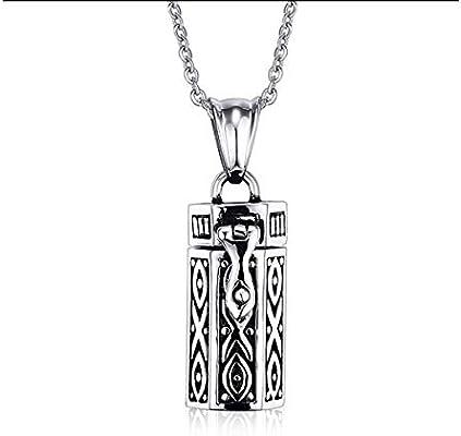 Guyuexuan Collar de Cenizas para Mascotas, Botella de Perfume ...