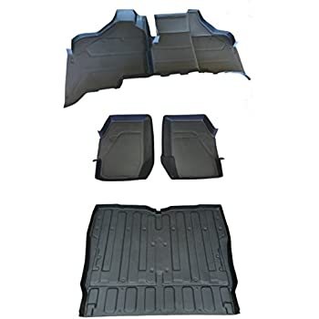 Amazon Com New Rubber Bed Mat Liner Honda Pioneer 2016