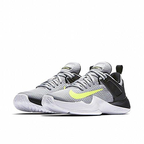 Nike Air Zoom Hyperace Volleyball Schuhe Wolf Grau / Volt-schwarz