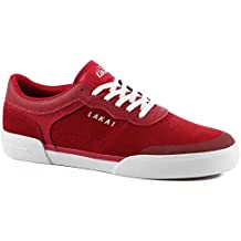 "Lakai ""Staple"" (Red Suede)"