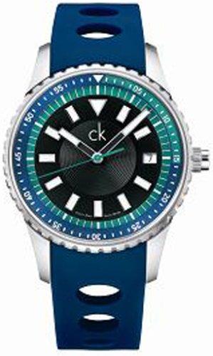 Calvin Klein K3211377 - Reloj de Pulsera Hombre, Caucho