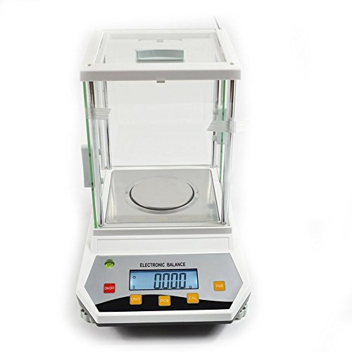200 / 0.001g 1mg Digital Analytical Balance Weighing Precision Lab Scale 110V Analytical Balance