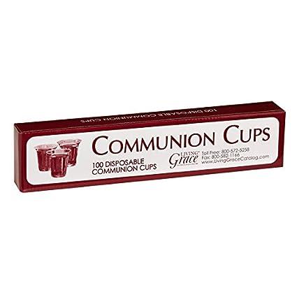 Amazon com: Living Grace Disposable Communion Cups Box Fits