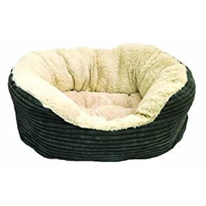 Rosewood Plush Dog Bed 16