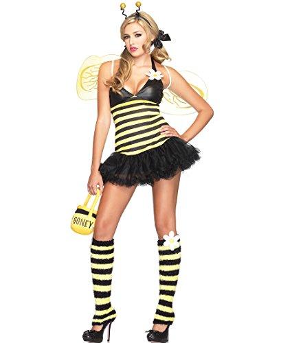 Leg Avenue 83343 Daisy Bee Sexy Adult Costume - Medium/Large - Yellow/Black