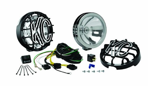 KC HiLiTES 120 SlimLite Chrome 130w Spot Beam Light System