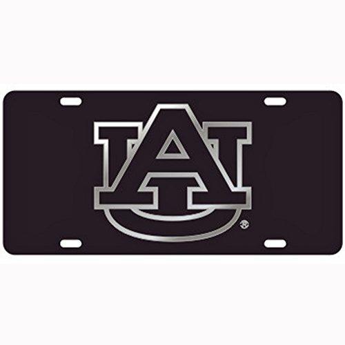 Craftique Auburn Tigers Black Laser Cut License Plate ()