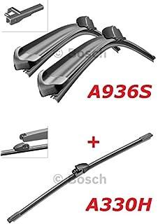 Bosch Limpiaparabrisas Frontal.traseros y borrador ...
