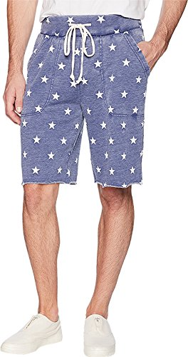 Alternative Men's Victory Shorts Navy Stars XX-Large 11