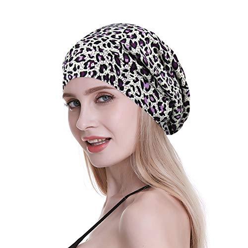 Elegant Caps for Frizzy Hair Black Women Beanie Picnic Turbans Slouchy Bonnets Diamond