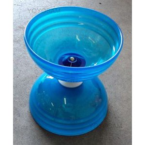 Sundia Shining Series Diabolo - Crystal Blue *Free Sticks and String*