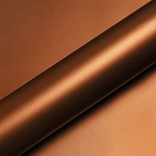 Pellicola Car Wrapping Hexis HX20661S colore 'BRONZO CANYON MET SATINATO' realizzata in PVC cast multistrato di spessore superiore a 100 micron per una maggiore resistenza e durevolezza. Altezza bobina mm.1520 vendita al mt/lineare