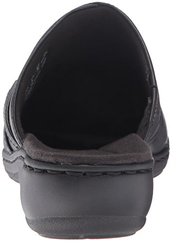 Women's Leisa Black Leather Clarks Bliss Mule n7aqRRAw