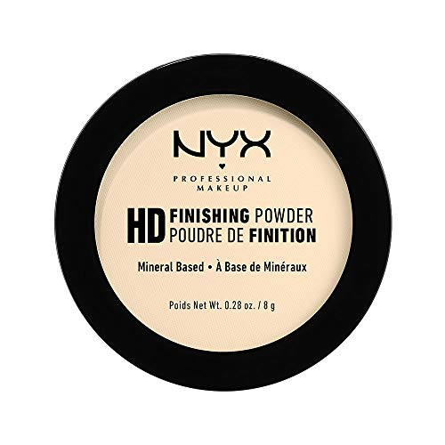 NYX PROFESSIONAL MAKEUP High Definition Finishing Powder, Banana, 0.28 Ounce (Best Drugstore Hd Powder)