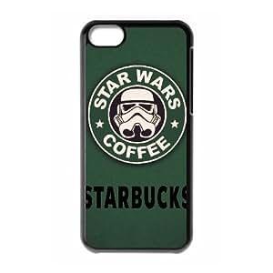 Special Design Cases iPhone 5C Cell Phone Case Black Starbucks Djsgj Durable Rubber Cover