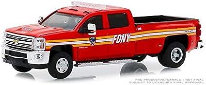 GreenLight 46030 A 2018 Chevy Silverado 3500 Dually Service Truck Diecast 1:64