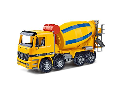 Oversized Friction Cement Mixer Truck - 14