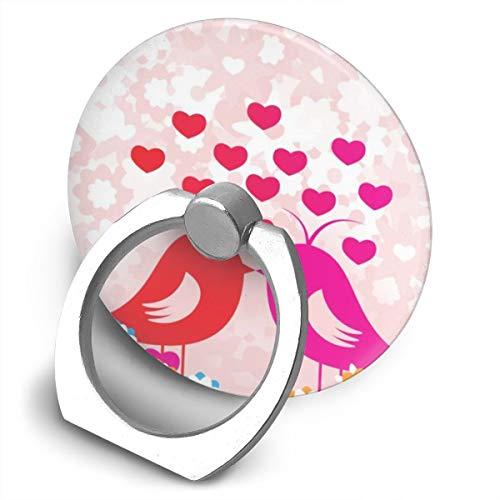 Markui Cell Phone Finger Ring Holder Birds Love