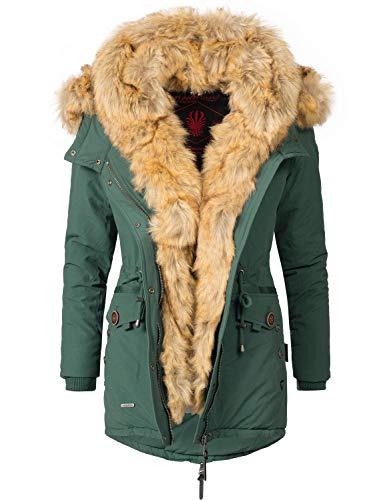 Couleurs Veste Vert D'hiver 8 2in1 Parka Navahoo xxl Pour Dame Xs Sweety 86wqgqx