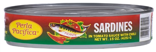 (Napoleon Perla Pacifica Sardines Chili, 15-Ounce Cans (Pack of 24))