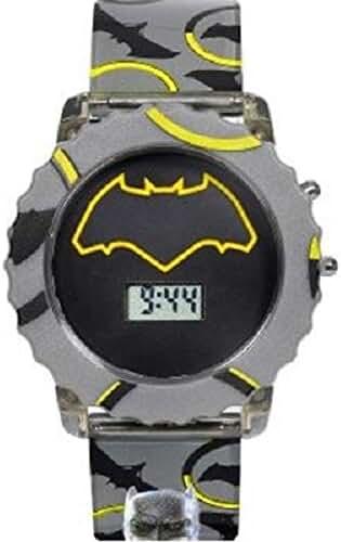 Batman v Superman Kid's Gray Digital Flashing Lights Watch (BVS4028JC)